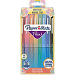 Penne con punta sintetica Paper Mate Flair Nylon 0.8 mm assortiti 16 pezzi