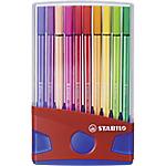 Pennarelli STABILO Pen 68 Mini 6820 04 punta tonda 1.0 mm assortiti 20 pennarelli