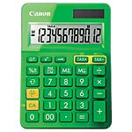 Calcolatrice da tavolo Canon LS123K solare e batteria verde