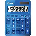 Calcolatrice da tavolo Canon LS123K solare e batteria blu