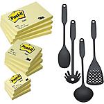 Notes + Utensili da cucina Post it giallo canary 76 x 76 mm 76 x 76 mm 12 pezzi