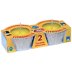 Candele Citronella 2 pezzi
