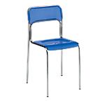 Sedia per sala d'attesa Ascona blu