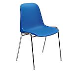 Sedia per sala d'attesa Elena blu