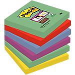 Foglietti Post it Super Sticky Marrakesh assortiti 76 x 76 mm 70 g