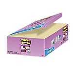 Notes Post it Super Sticky 18+6 gratis giallo non perforati 48 x 48 mm 70 g