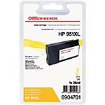 Cartuccia inchiostro Office Depot compatibile hp 951xl giallo cn048ae