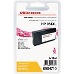 Cartuccia inchiostro Office Depot compatibile hp 951xl magenta cn047ae