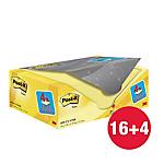 Foglietti riposizionabili Post it 655 giallo canary 76 x 127 mm 70 g