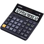 Calcolatrice da tavolo Casio DH 12TER a batteria, solare nero