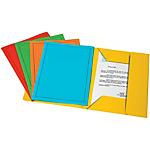 Cartelline Fraschini 3 lembi cartoncino giallo 25 pezzi