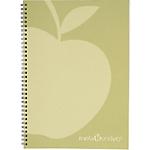 Quaderno con spirale Blasetti Melascrivo bianco a righe A5 14,8 x 21 cm 80 g