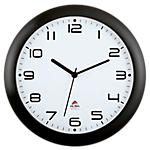 Orologio da parete al quarzo Alba nero bianco 30 (Ø) x 30 (Ø) cm