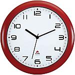 Orologio da parete al quarzo Alba rosso bianco 30 (Ø) x 30 (Ø) cm