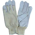 Guanti Di protezione pelle di capretto taglia 9 grigio azzurro