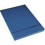 Registro Biemme Copertina rigida blu a righe A4 29,7 x 21 cm