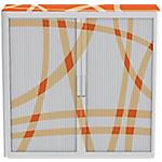 Armadio Paperflow arancione 104 (l) x 110 (p) x 41,5 (h) cm