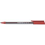 Penna a sfera con fusto triangolare STAEDTLER Ball 432 0.5 mm rosso