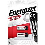Pile Alcaline Energizer E90 LR1 confezione 2 2 pezzi