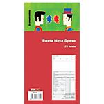 Blocco buste nota spesa Edipro E5777 bianco 28 (h) x 15 (l) cm 25 buste