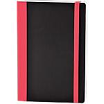 Taccuino ExaClair Soft&Color 237788Q rosa a righe 15 x 10 cm 90 g