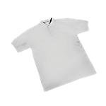 Maglietta a manica corta SEBA Piquet cotone taglia s bianco