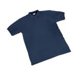 Maglietta a manica corta SEBA Piquet cotone taglia s blu