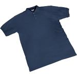 Maglietta a manica corta SEBA Piquet cotone taglia l blu
