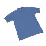 Maglia POLO a manica corta SEBA Piquet cotone taglia s blu reale