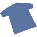 Maglia POLO a manica corta SEBA Piquet cotone taglia m blu reale