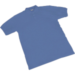 Maglia POLO a manica corta SEBA Piquet cotone taglia xl blu reale