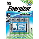 Pile Alcaline Energizer Eco Advanced AA confezione 4