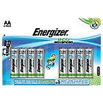 Pile Alcaline Energizer Eco Advanced AA confezione 8