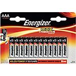 Pile Alcaline Energizer Max AAA confezione 12