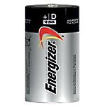 Pile Alcaline Energizer D D confezione 2