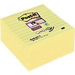 Foglietti adesivi Post it Super Sticky giallo 101 x 101 mm 5 pezzi x 90 fogli