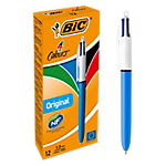 Penna a sfera BIC 4 in1 tratto 0.4 mm assortiti