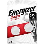 Pile a bottone Energizer CR2450 confezione 2 2 pezzi