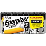 Pile Alcaline Energizer AA AA confezione 16