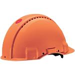 Elmetto di protezione 3M G3000C abs arancione