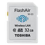 Scheda di memoria Toshiba FlashAir W 02 32 GB