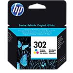 Cartuccia inchiostro HP originale 302 3 colori f6u65ae