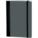 Agenda settimanale ExaClair Soft&Color 567002Q grigio 15 (h) x 10 (l) cm copertina morbida, chiusura ad elastico