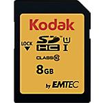 Scheda di memoria EMTEC KODAK SDHC UHS I U1 8 gb