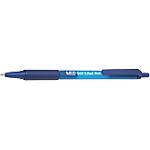 Penne a sfera a scatto BIC Soft Feel Clic Grip tratto 0.4 mm blu 12 pezzi