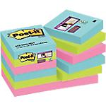 Foglietti adesivi Post it Super Sticky colori assortiti senza perforazione 74 g