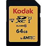 Scheda di memoria EMTEC KODAK SDHC UHS I U1 64 gb