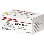 Fermagli zincati Office Depot 25mm (l) 100 pezzi
