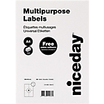Etichette multifunzione niceday bianco 105 (l) x 148 (h) mm 100 fogli
