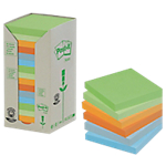 Notes riposizionabili Post it Aquatic pastello 76 x 76 mm 70 g